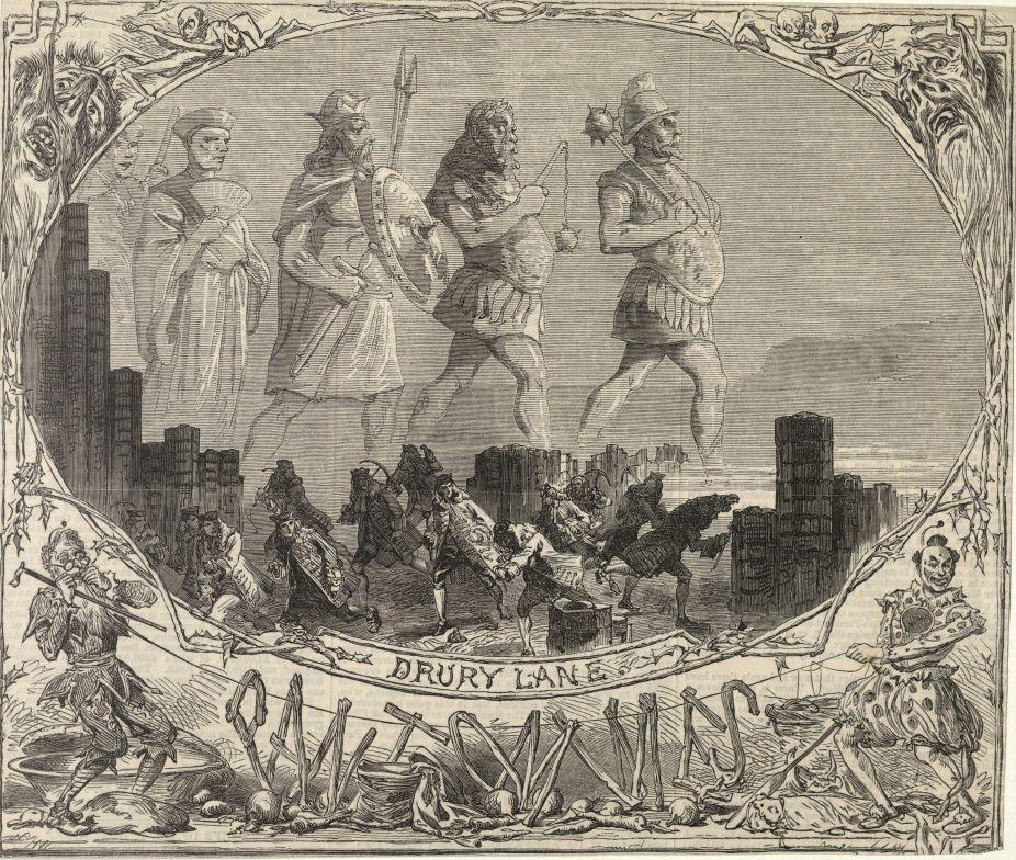 Drury Lane Pantomimes. MS Thr 692 (3)
