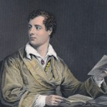 Lord Byron. Steel engraving (1873) by Alonso Chappel. Houghton Portrait File.