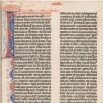 Gutenberg Bible, f5v, Harry Elkins Widener Collection.