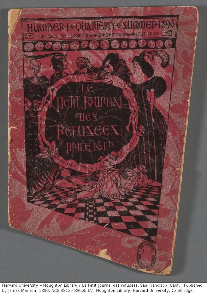 Le Petit Journal des Refusées. AC9.B9125.896pb