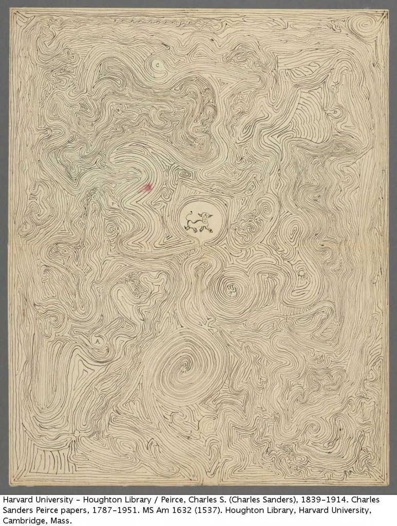 Peirce, Charles S. (Charles Sanders), 1839-1914. Labyrinth. MS Am 1632 (1537)
