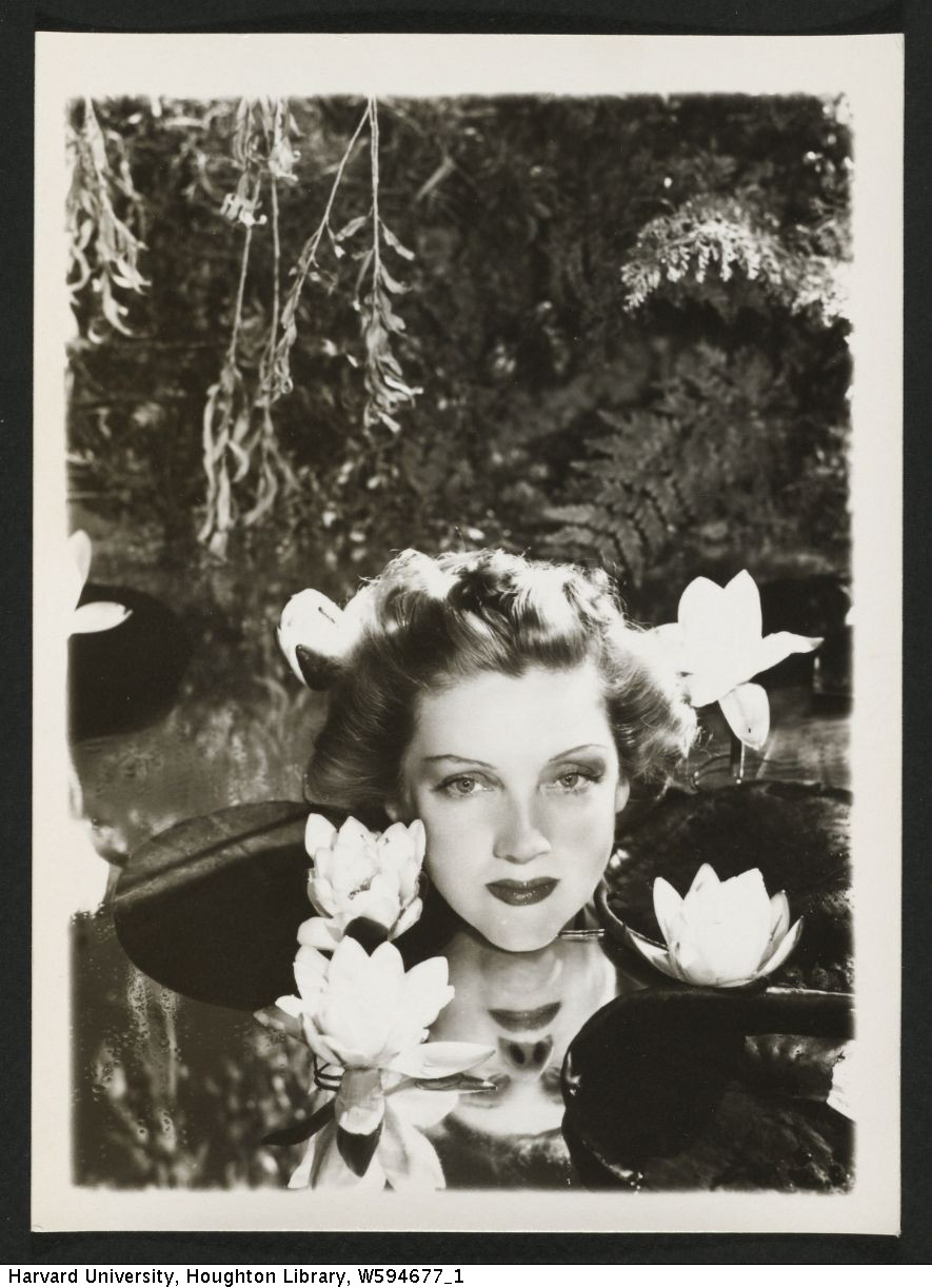 McBean, Angus, photograph of Dorothy Dickson. MS Thr 581