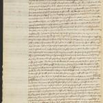 Descartes, René, 1596-1650. A.L.s. to Marin Mersenne; Leyden, 28 Oct 1640, p. 2. MS Hyde Eng 1343 (6)