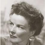 Angus McBean. Portrait of Katharine Hepburn. MS Thr 581