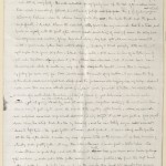 Robert Louis Stevenson. Letter to Sidney Colvin, 1891. p. 1. HEW 10.13.21