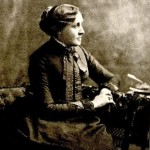 Portrait of Louisa May Alcott. AC85.Al194.889l (A)