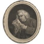 Portrait of Samuel Johnson from his Works, 1787. 2003J-SJ806