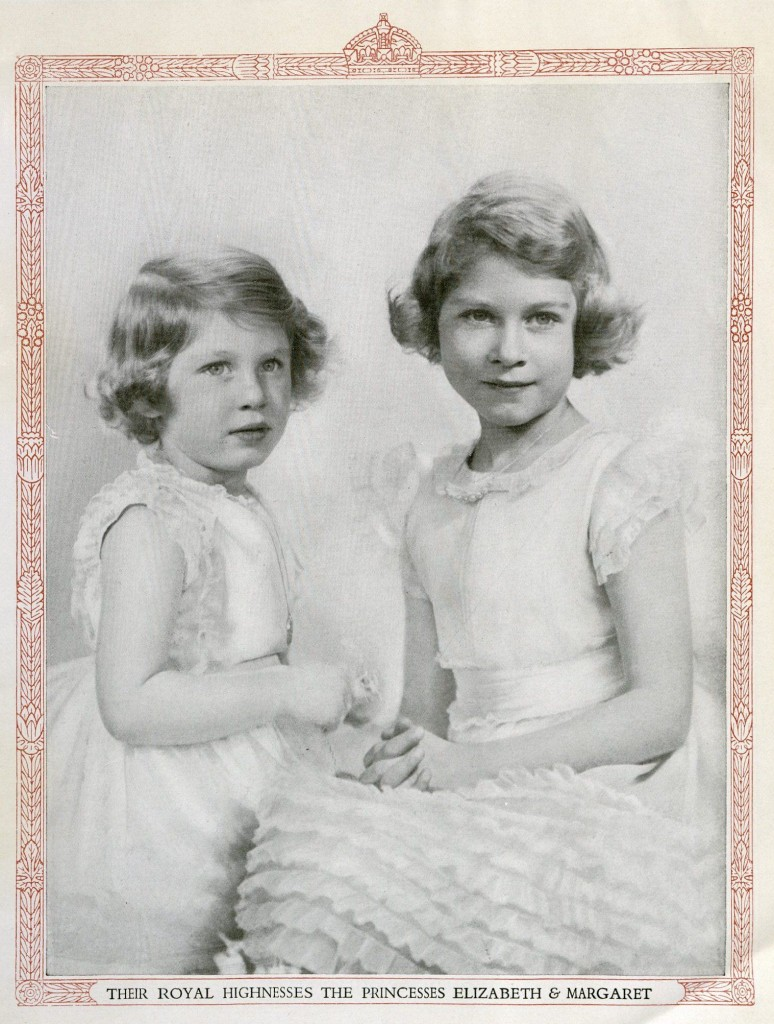 Photo of Princess Elizabeth and Princess Margaret, 1937. fTyp 905.37.2992