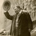 Photograph of Theodore Roosevelt, 1912. Roosevelt 560.7 1912