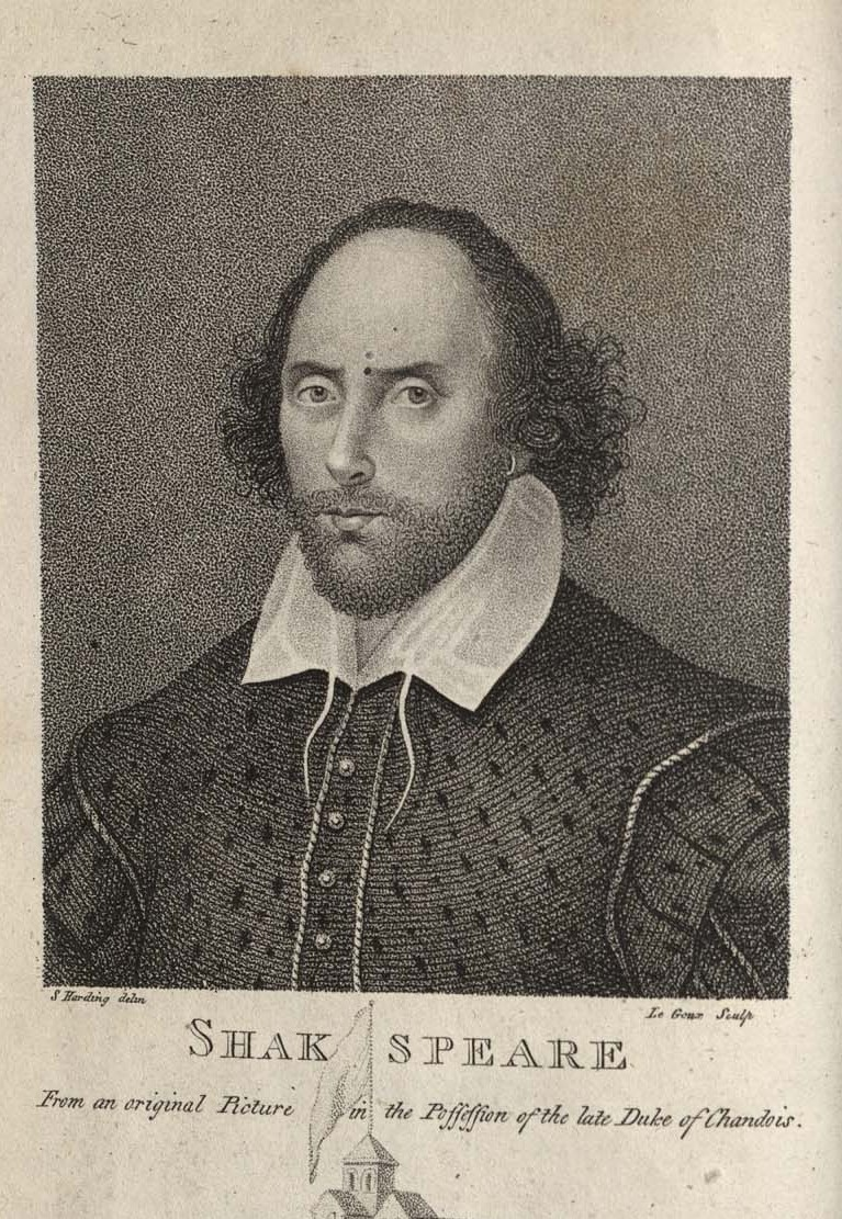 Portrait of William Shakespeare. 12473.33