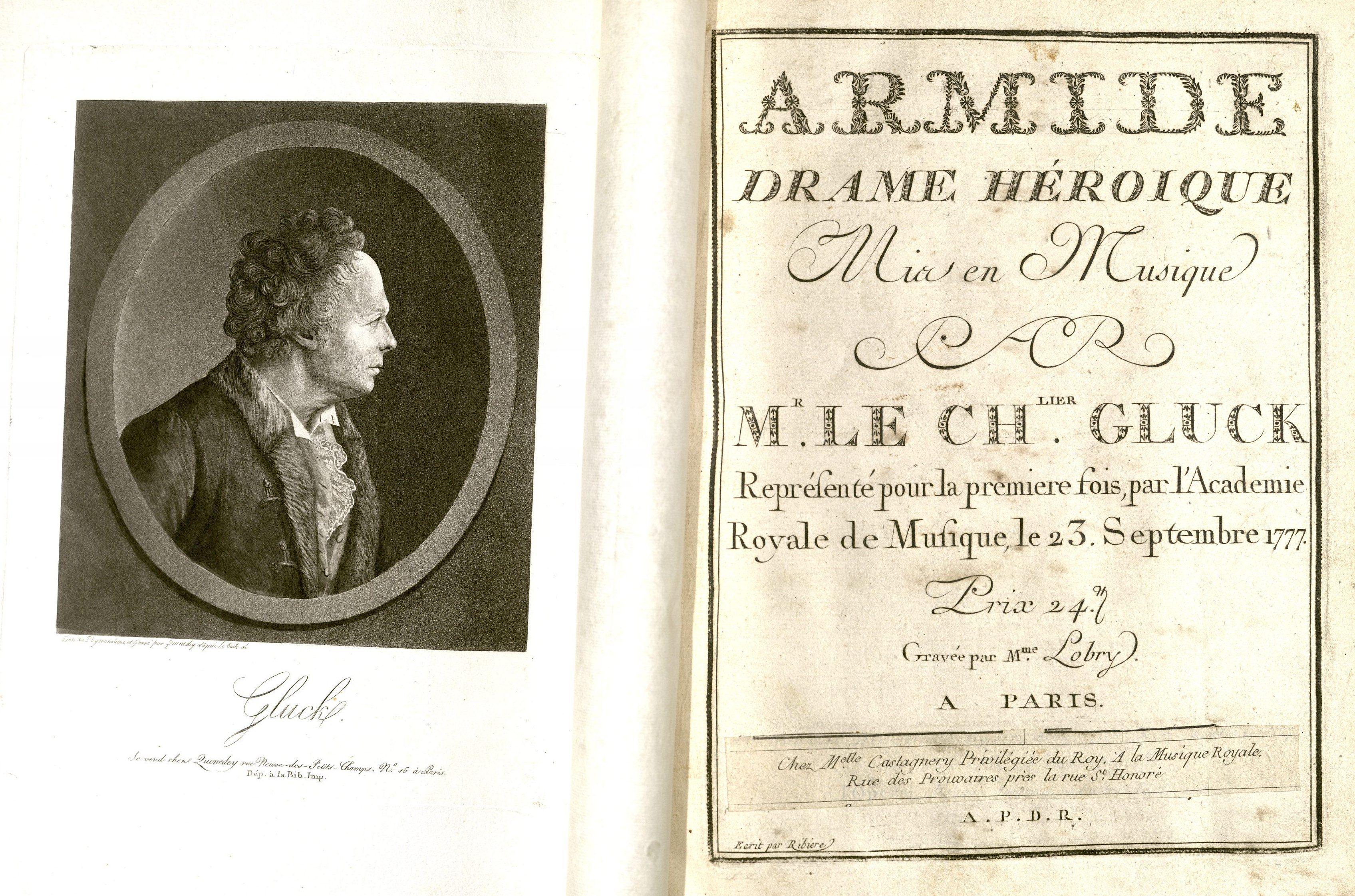 M1500.G56 A7 1777a  Title page