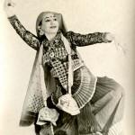 Photo of Russell Meriwether Hughes, aka La Meri. MS Thr 943 (16)