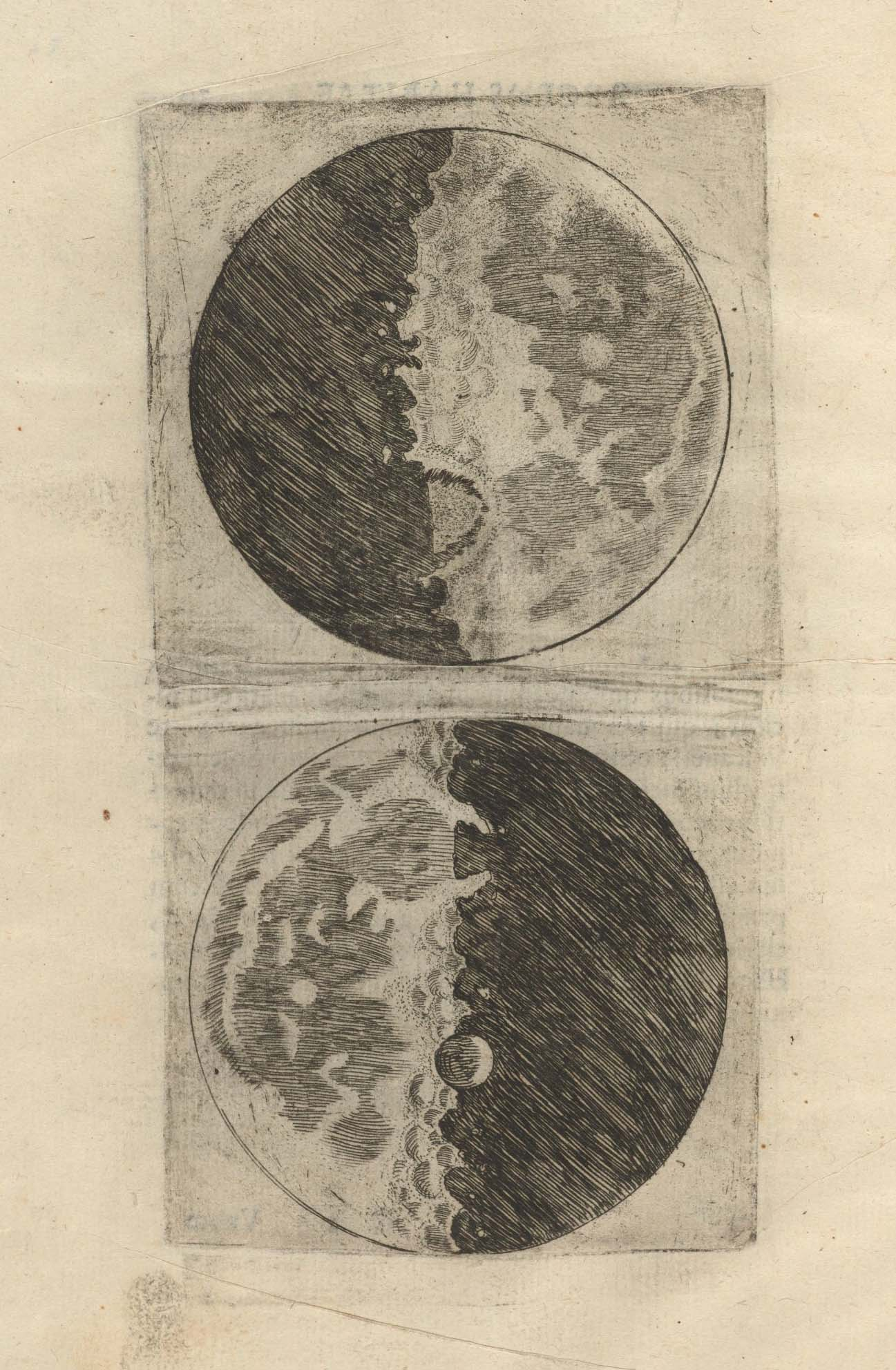 Galilei, Galileo. Sidereus Nuncius, 1610. Leaf 10 verso. IC6.G1333.610sa