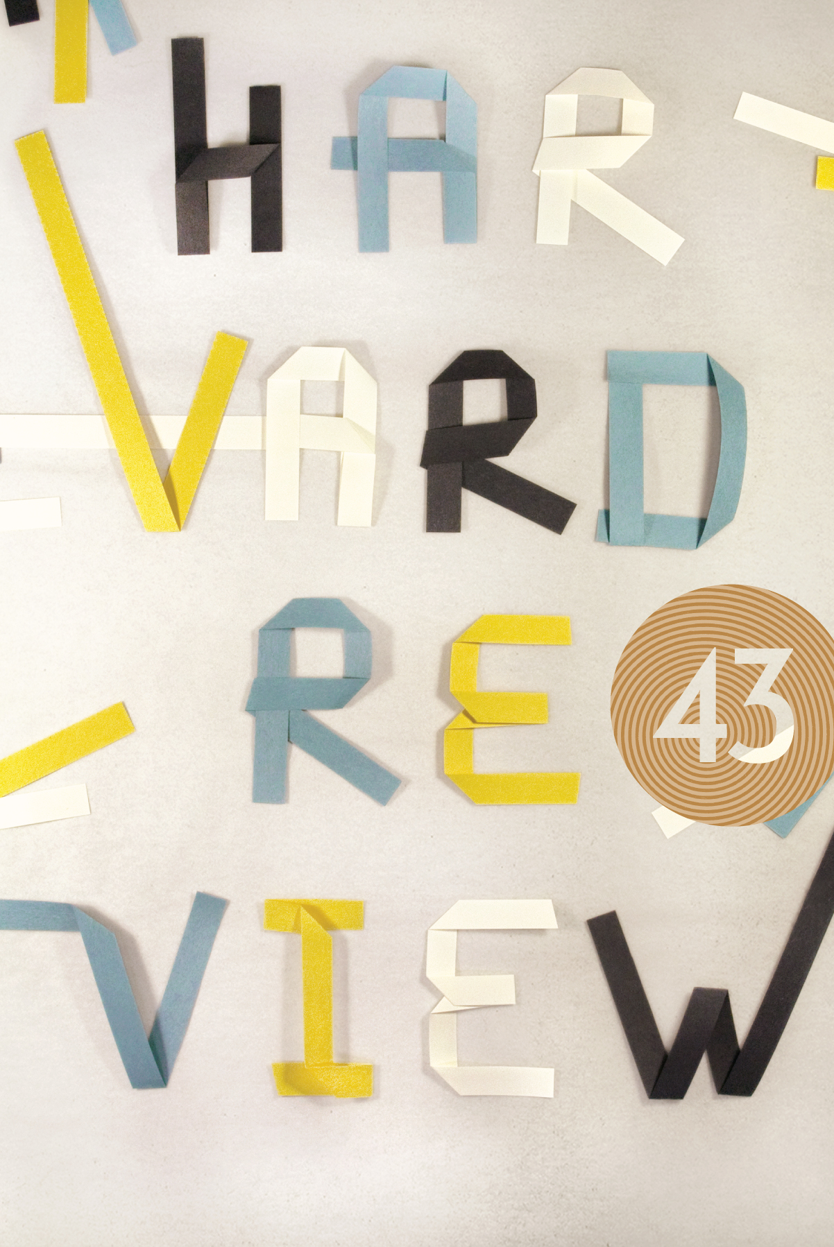 Harvard Review issue 43