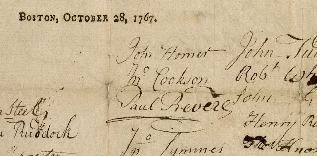 Whereas this province labors... (1767) leaf 2 detail. 42-5288.