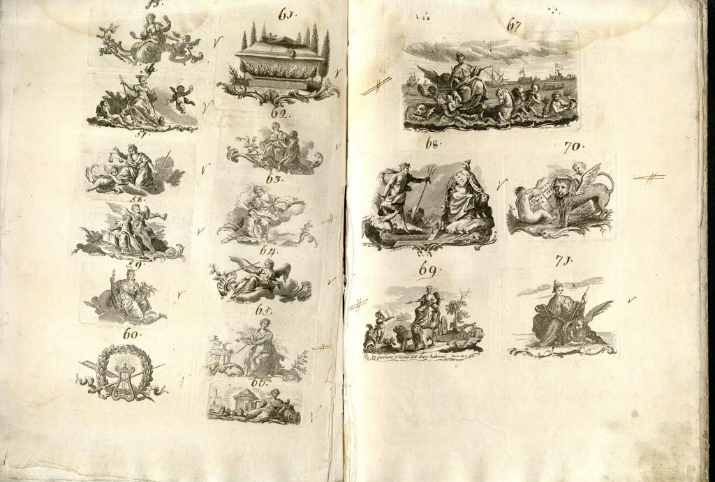 Zatta, Antonio, active 1757-1797. Imprese et emblemi tipografici. Venice, ca. 1770-1790. 2013H-11