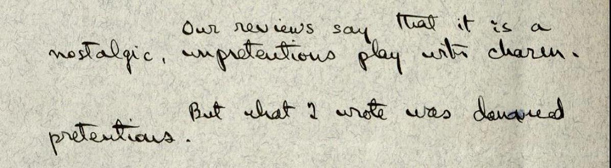 Thornton Wilder, letter to Alexander Woollcott, 27 Jan 1938. MS Am 1449 (1777)