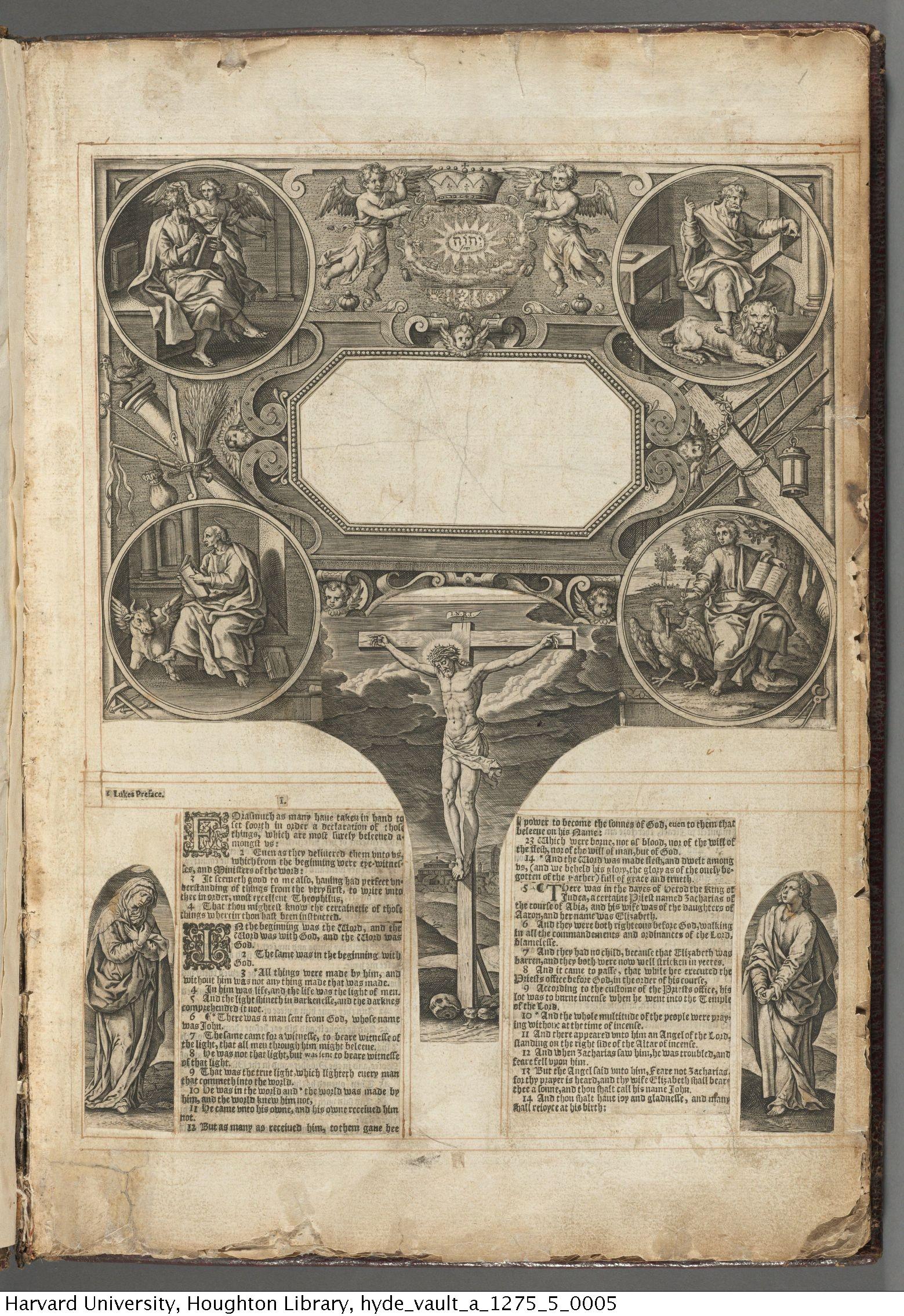 Little Gidding concordance, 1630. A 1275.5