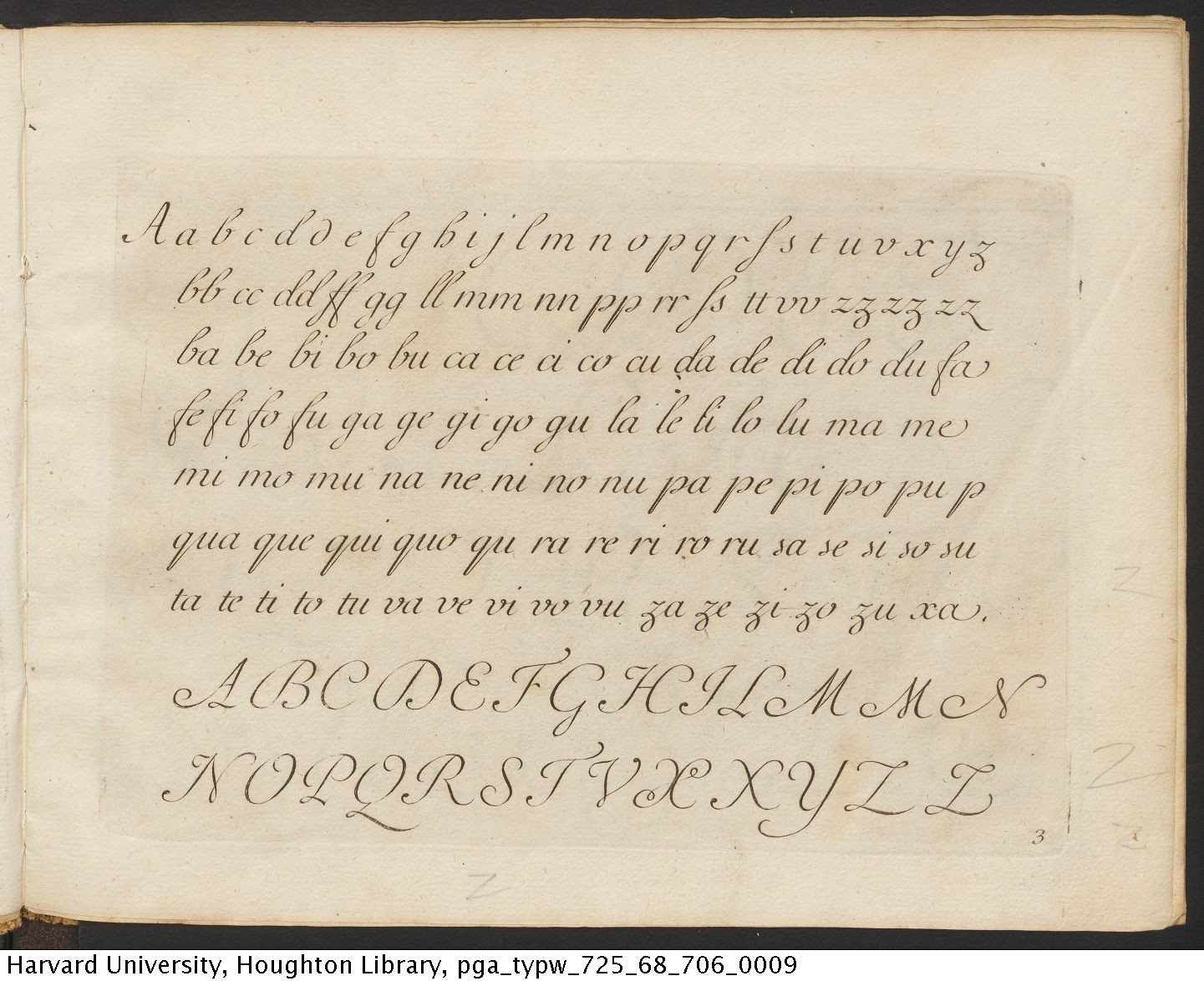 Polanzani, Francesco, 1700- La penna da scrivere all' uso corrente, [1768?] TypW 725.68.706