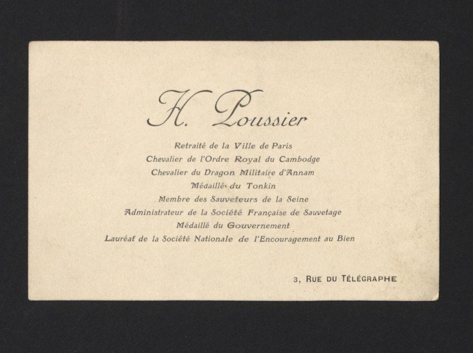 French cartes de visite, ca. 1890-1930. FC9.D4751.Q890c image 3