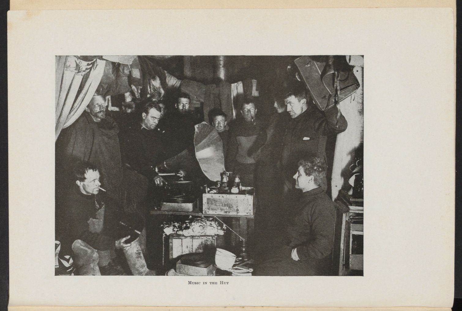 Shackleton, Ernest Henry. The heart of the Antarctic :being the story of the British Antarctic Expedition 1907-1909. Widener Library, Geog 6009.07