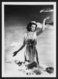 Vivien Leigh as Aurora, Goddess of the Dawn, 1936. Angus McBean Photograph (MS Thr 581). © Harvard Theatre Collection, Harvard University