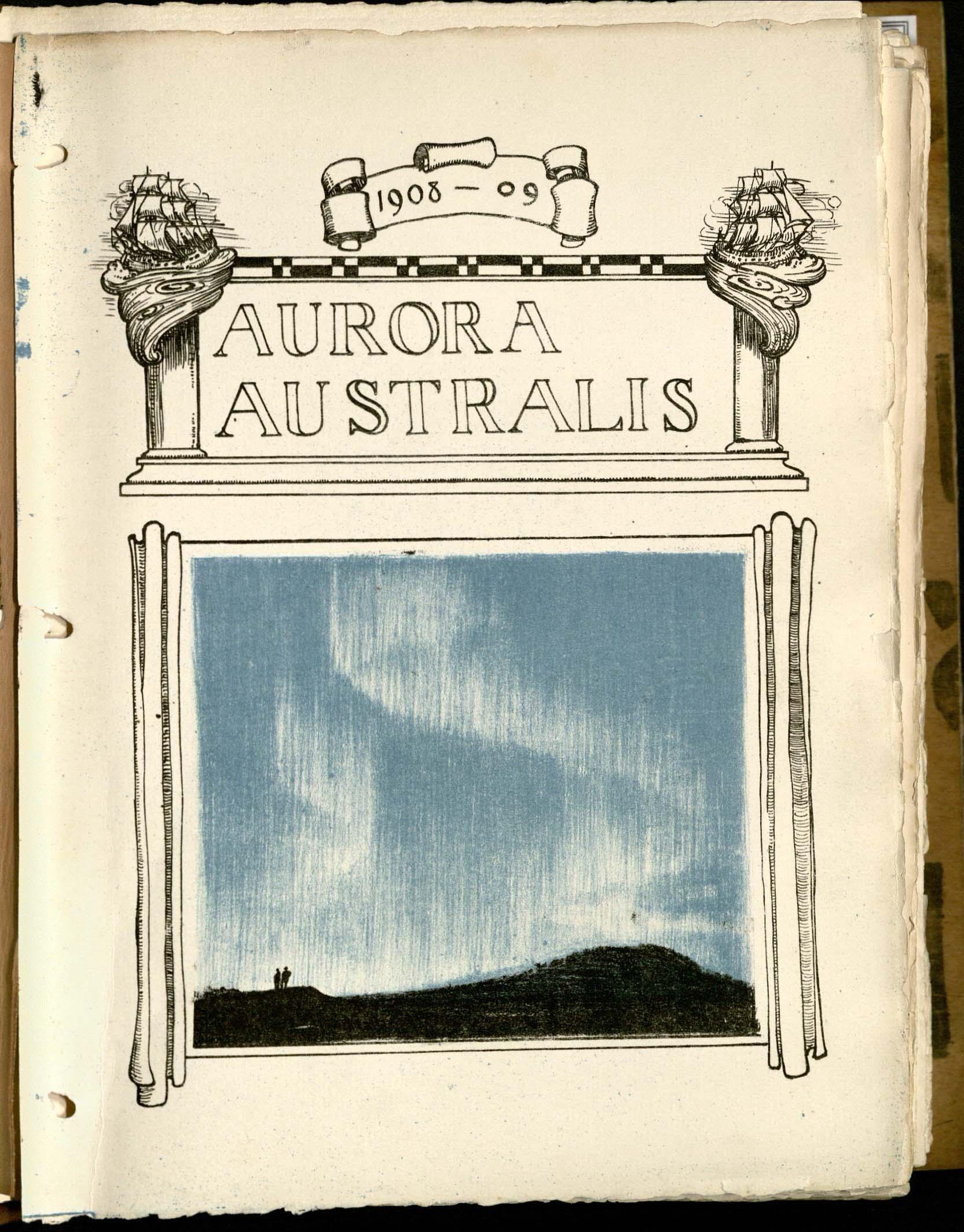 Aurora australis. Typ 100.908