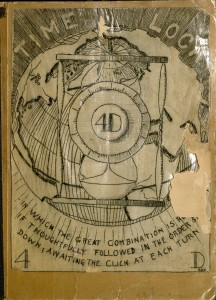 Fuller, R. Buckminster (Richard Buckminster),1895-1983. 4D. Time lock. In which the great combination is ..., 1928. MS Am 1627 (6)