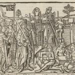 Colonne, Guido delle, active 13th century. Hier beghint Die hystorye vander destrucyen van Troyen, ca. 1500.  Typ Inc 9459.3