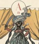 Alexandre Benois. Arap. Azbuka v kartinakh. [Saint Petersburg, 1904.] Typ 958.05.2025 (B)