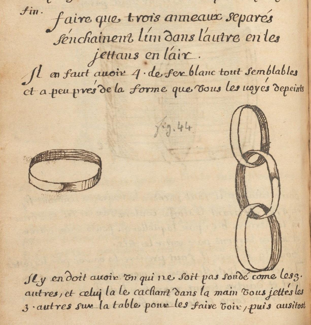La magie du Pont Neuf : où sont contenus les jeux et subtilités des basteleurs : manuscript, [between 1643 and 1651] MS Typ 530