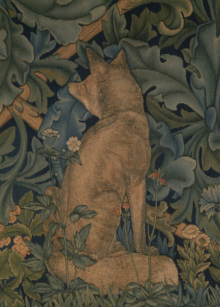 William Morris. The Forest tapestry, 1887. T.111-1926. © Victoria and Albert Museum, London