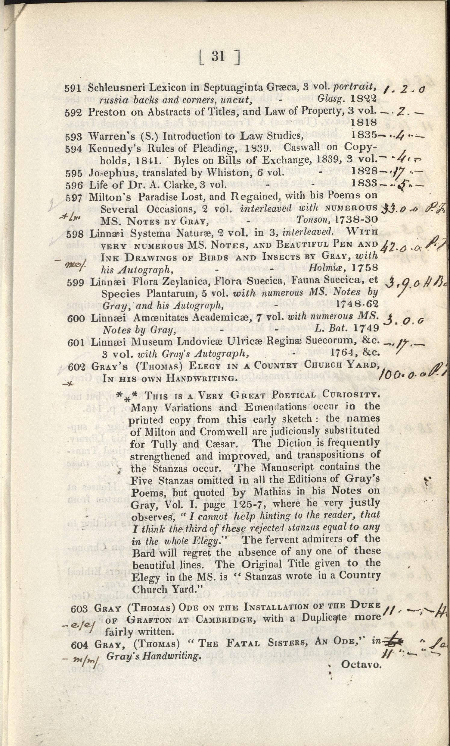 1845 Catalogue