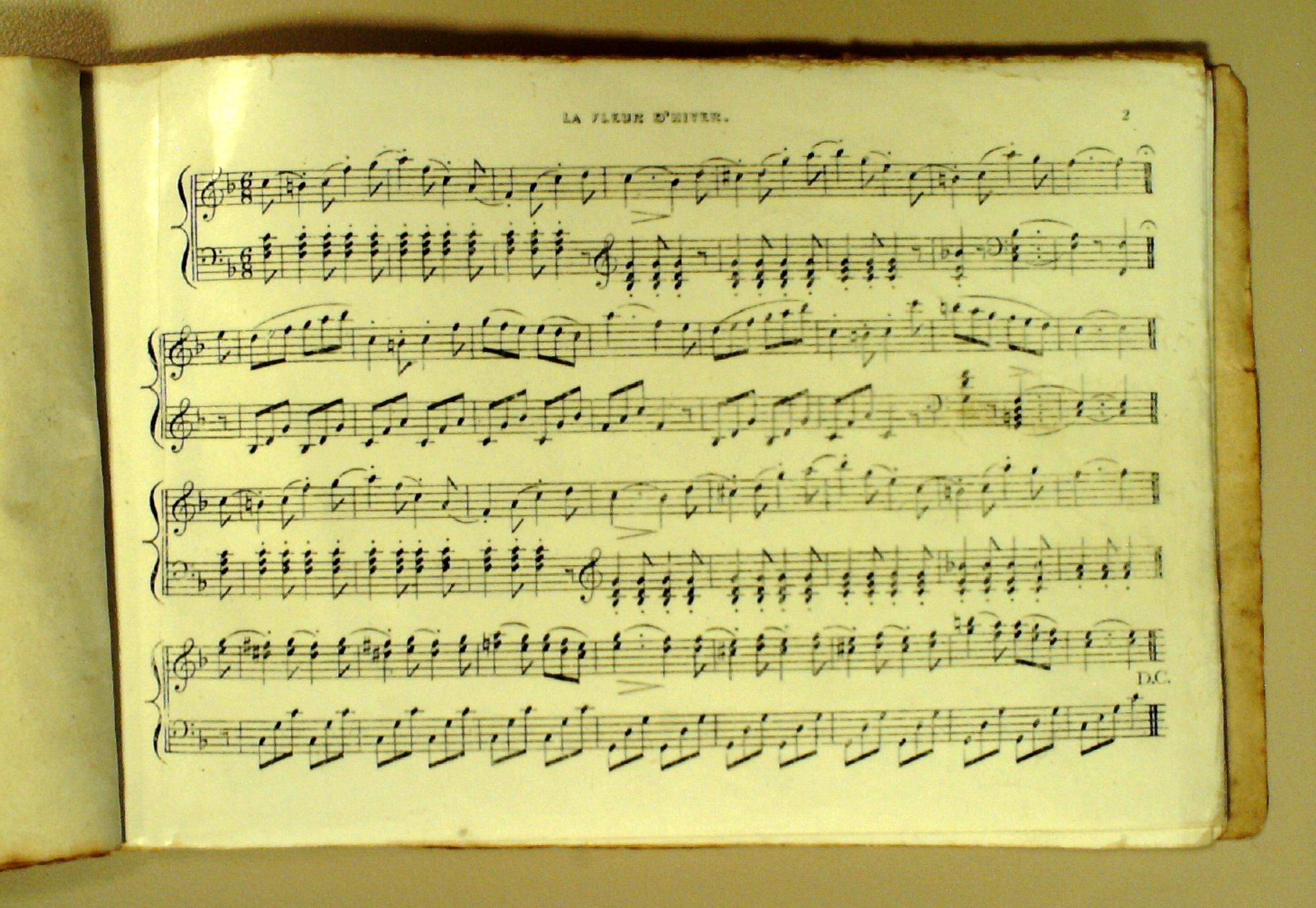 *2008TW-2095 (65 ) First Page Of Music