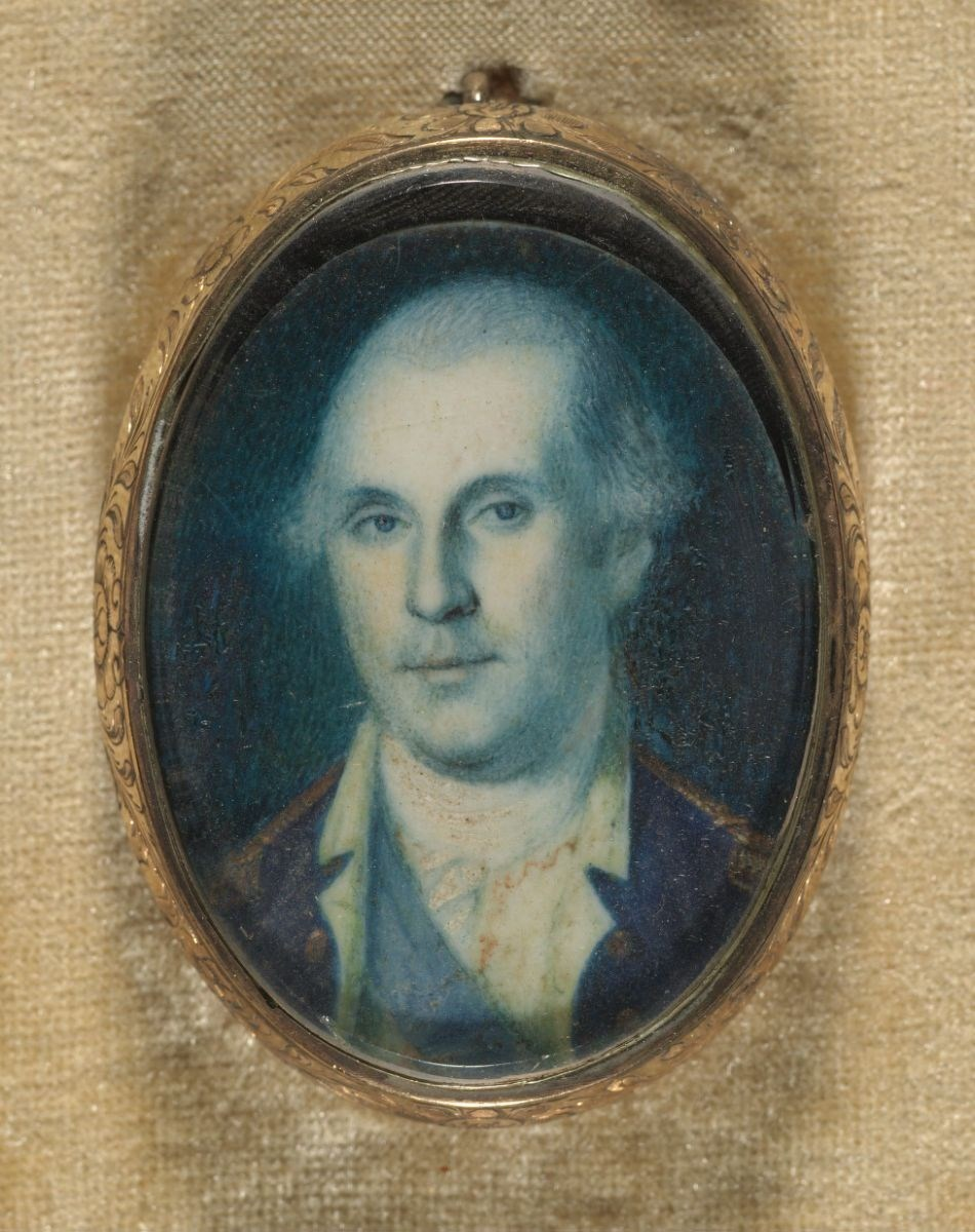 Peale, Charles Wilson, 1741-1827. George Washington, c. 1775. MS Am 1375