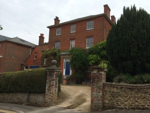 …The Chestnuts… The Dodgson family home in Guildford