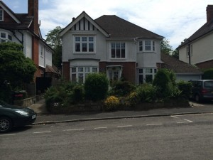 …the family home… The Turing residence at 22 Ennismore Avenue, Guildford