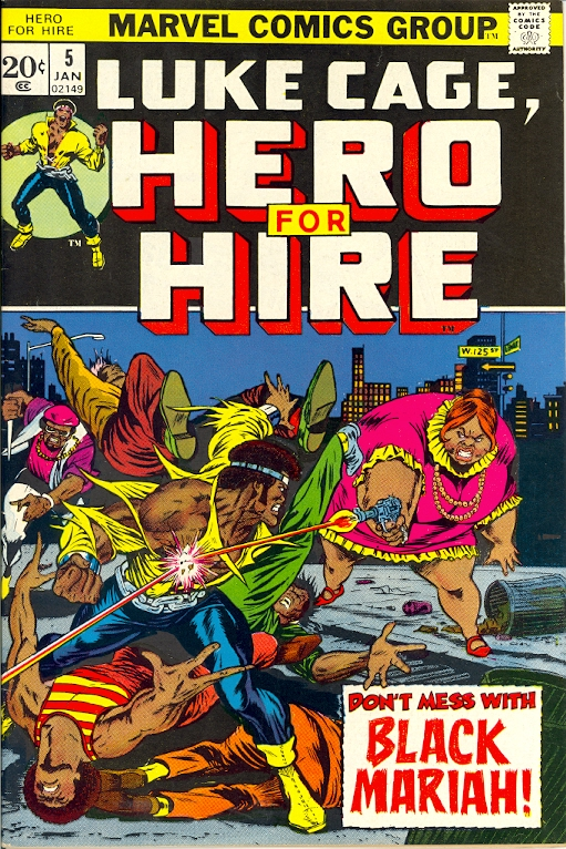 Luke Cage, Hero for Hire #5 (1973)