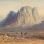 Lear Edward. Mount Sinai, 1869. MS Typ 55.28 (13)