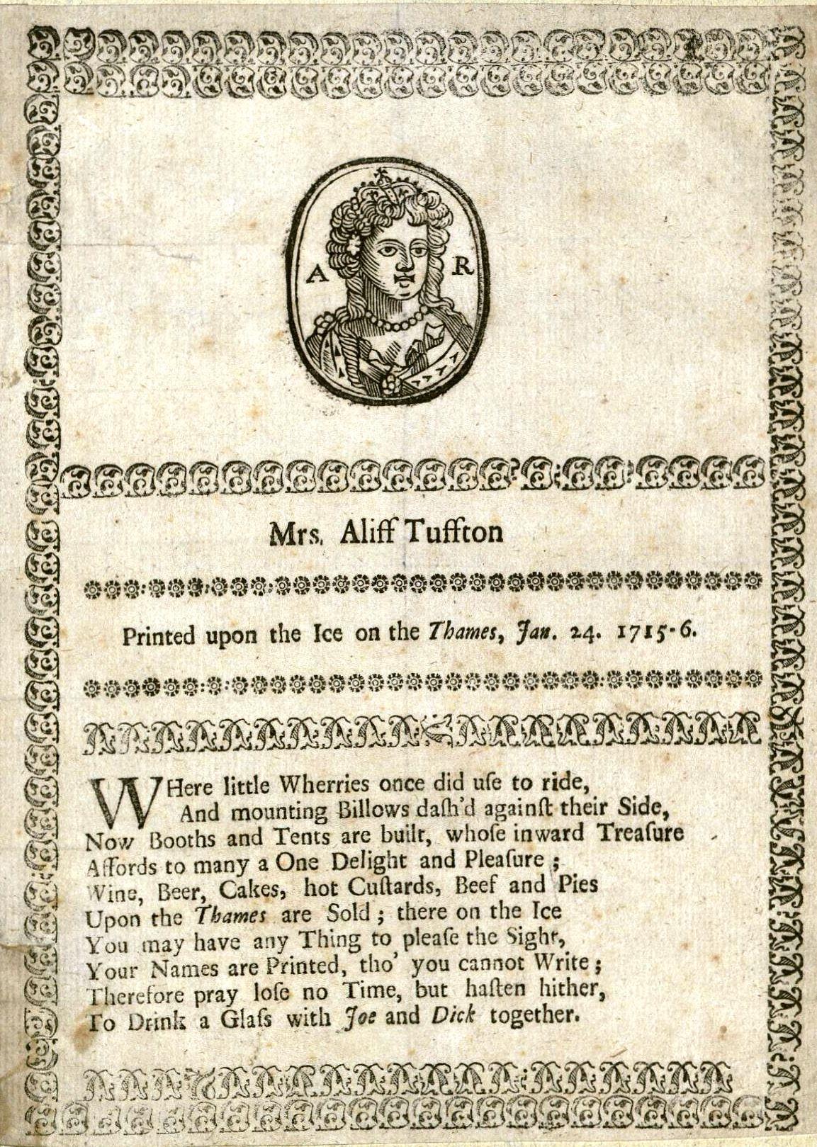 Mrs. Aliff Tuffton … (1716) Houghton EB7.A100.716m2