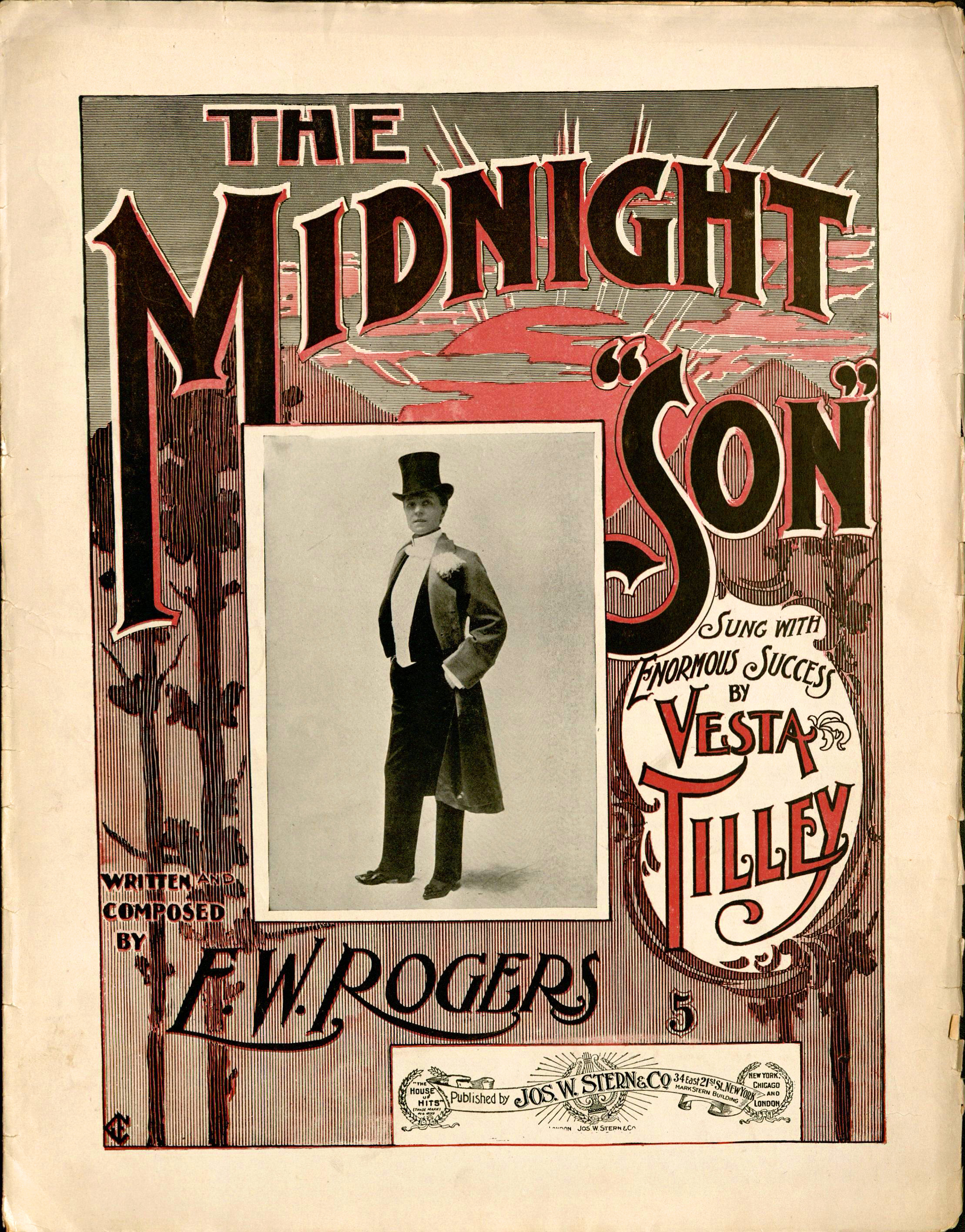 Havard Enssib Frame Anthem 275 Blue Orange 2015 M Sheet Music The Midnight Son Words And By E W Rogers