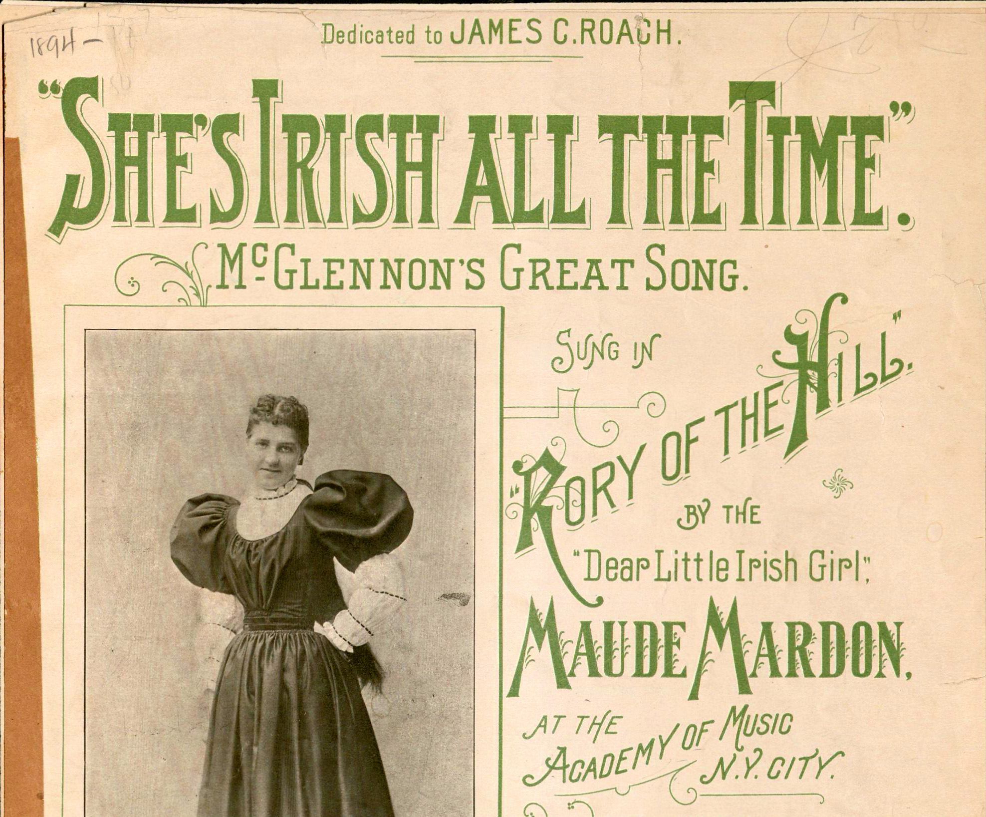 Shes Irish detail