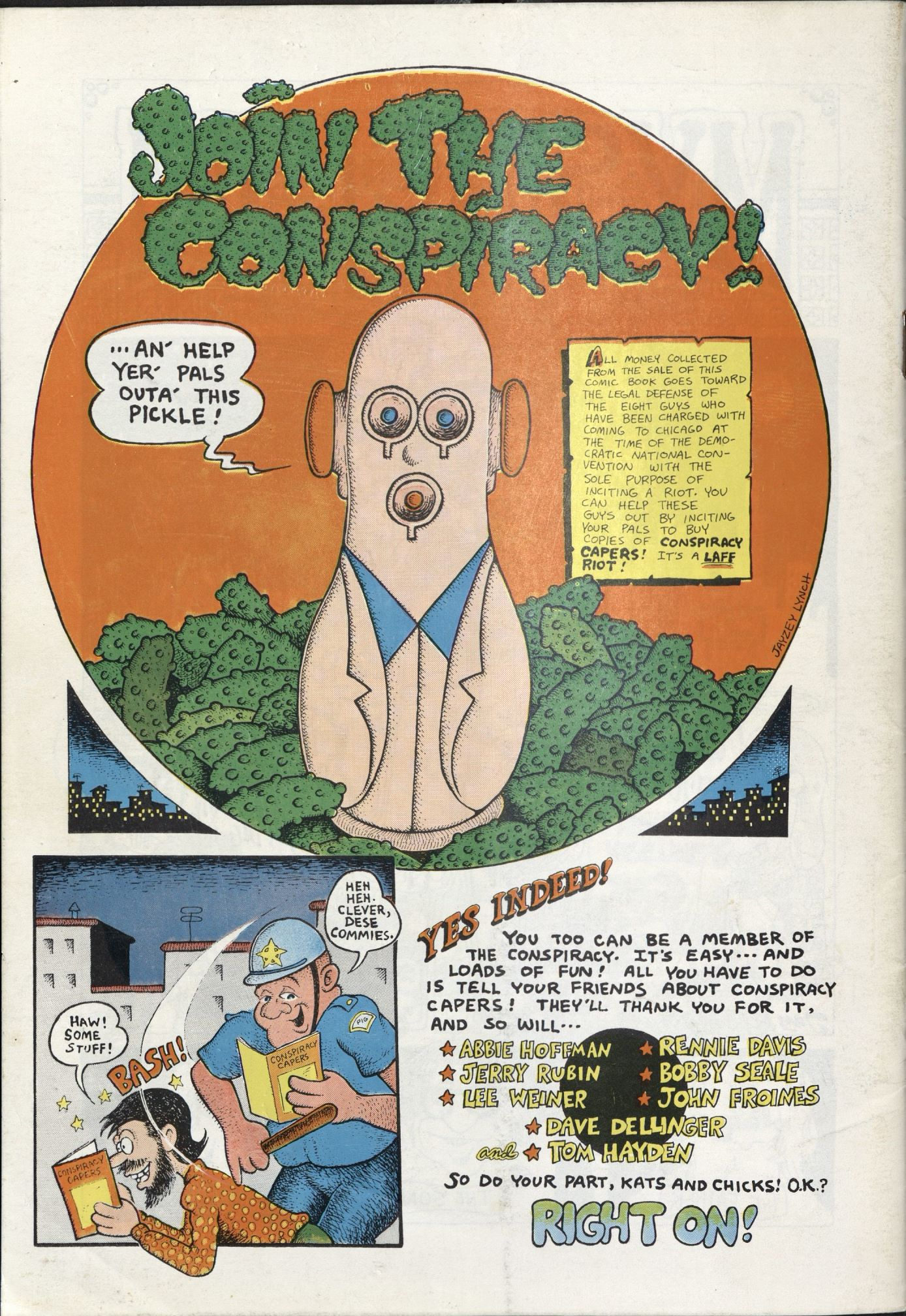 Conspiracy Capers/Join the Conspiracy