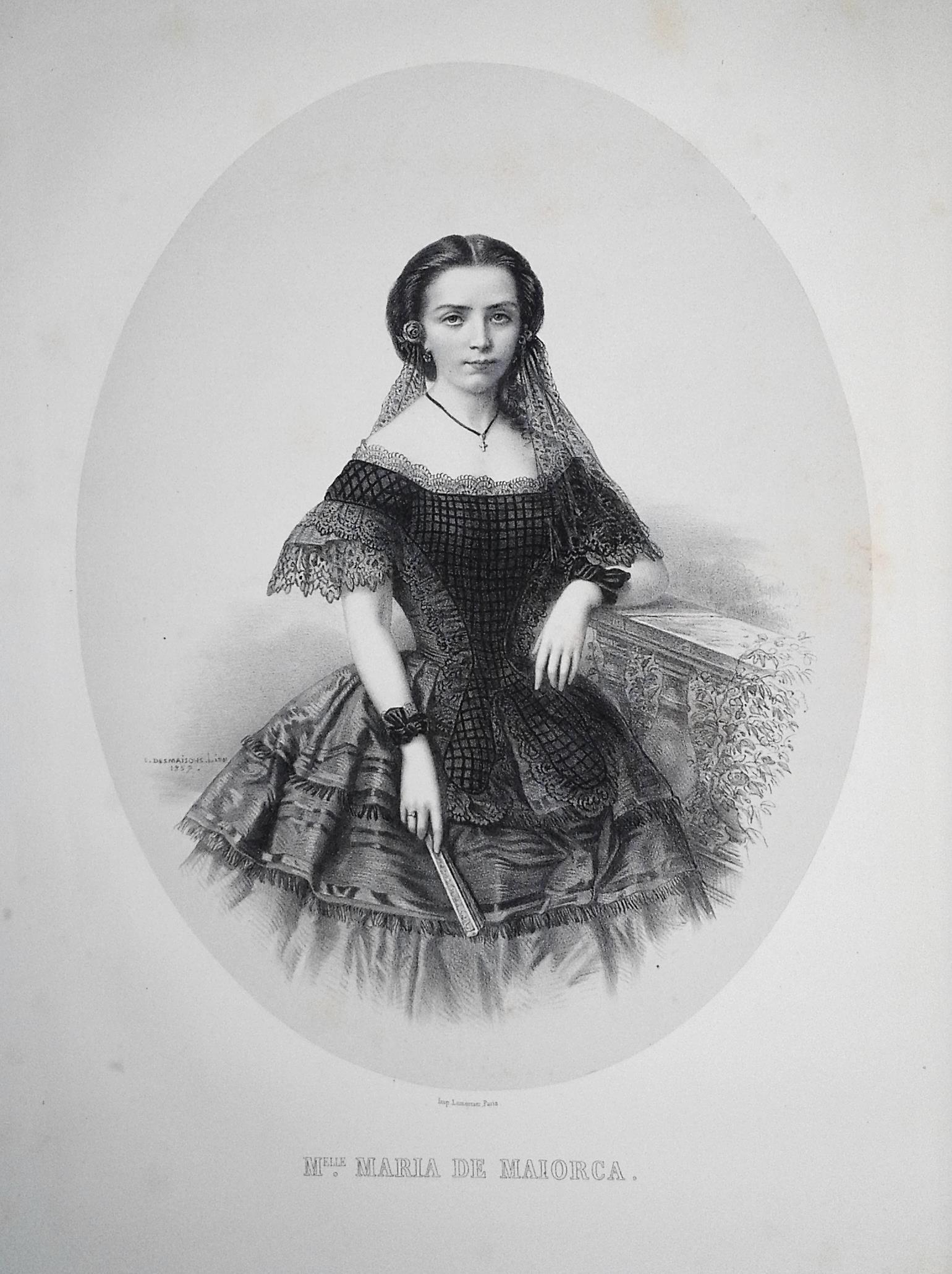 Melle. Maria de Maiorca [fille de Mr. le Vicomte de Maiorca, de Portugal]