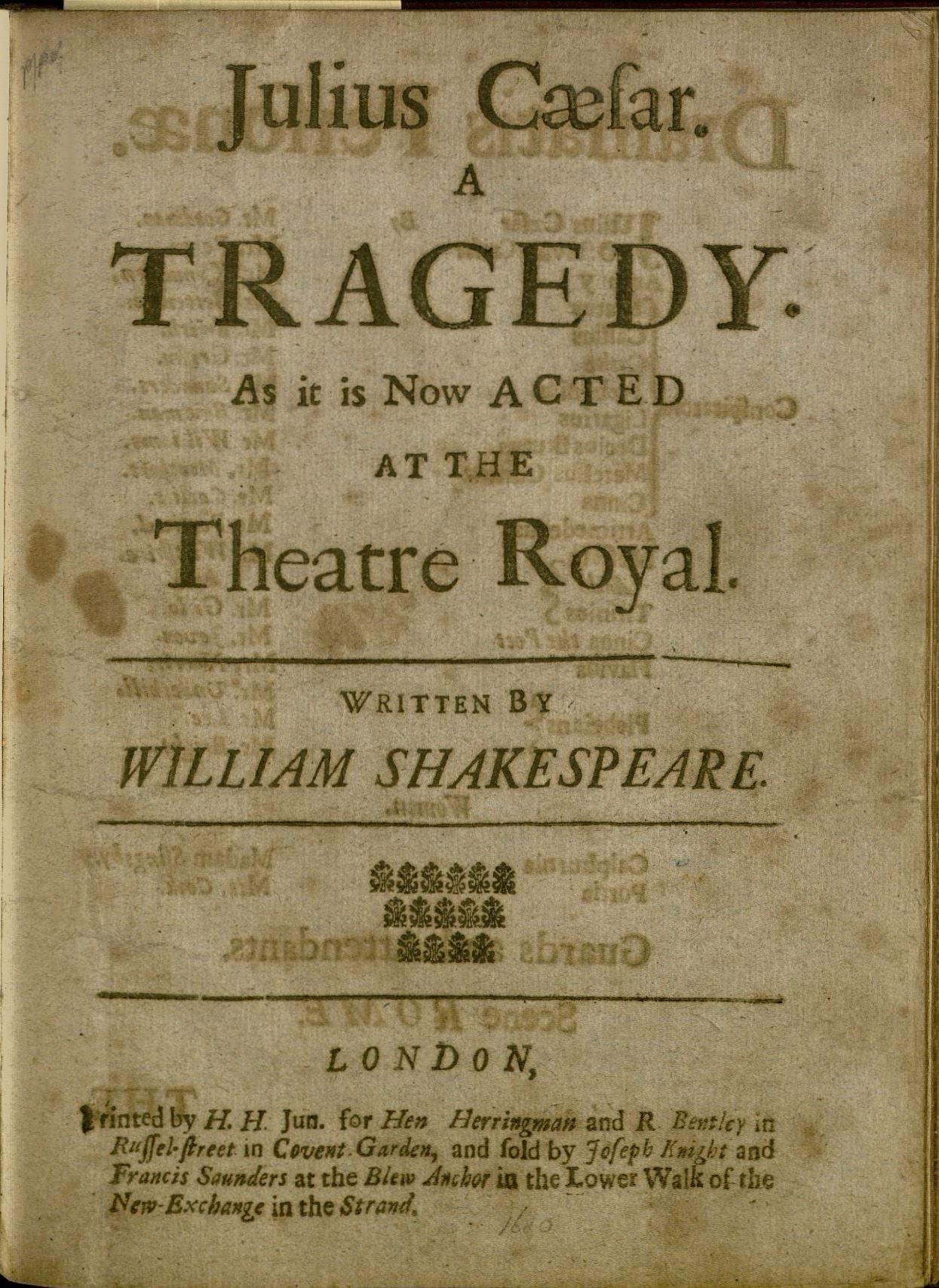 Julius Caesar 3rd edition