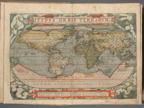 Plate I from Ortelius's Theatrum Orbis Terrarum (1570)