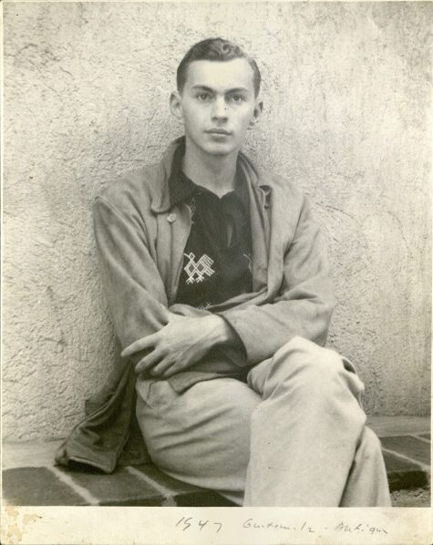 Photograph of Gore Vidal in Guatemala, 1947.