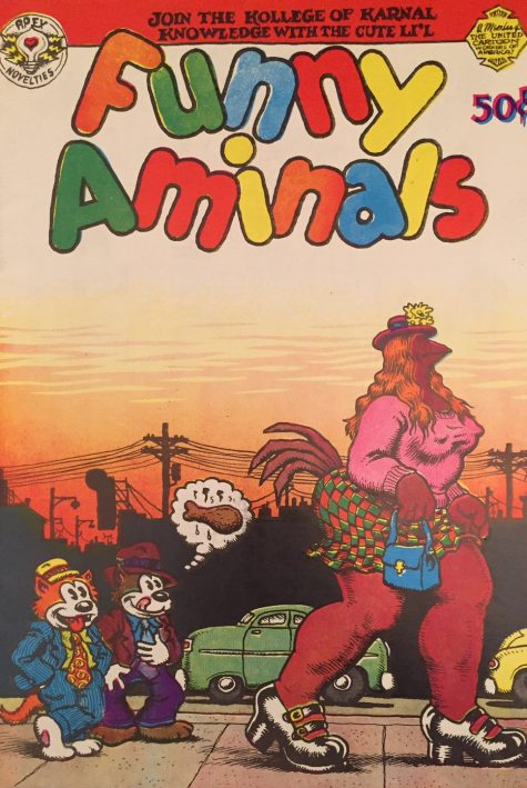 """The first appearance of a strip titled """"Maus"""" was in Funny Aminals."""