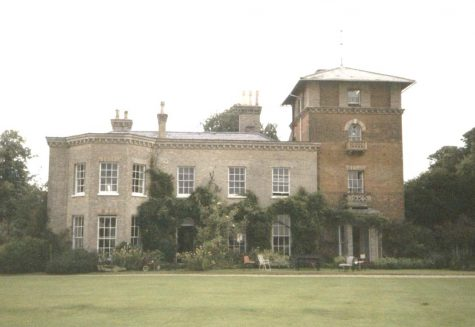 Horringer House, near Bury St Edmunds, Suffolk, UK
