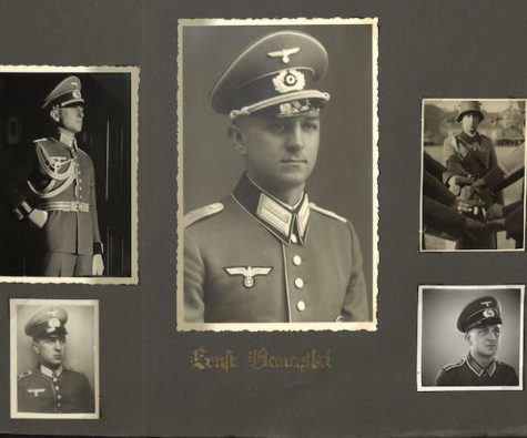 portraits of Ernst Banaski, owner of a photo album in the Castañé Collection.